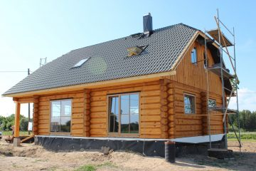 projects of log houses