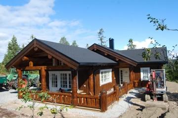 Building a log home – important  steps