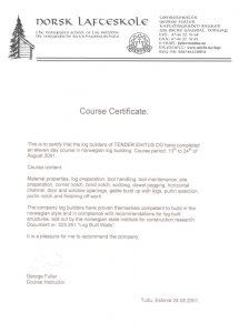 Norwegian-angle-certificate