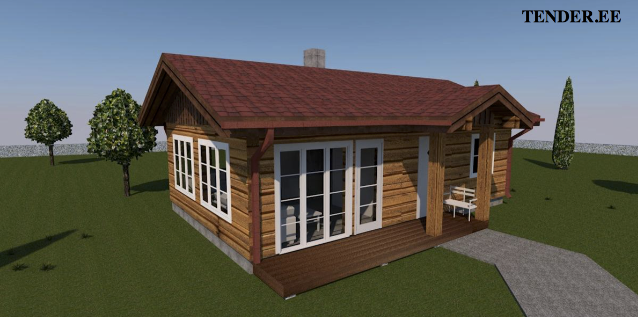 3d View Log Home Builder Tender