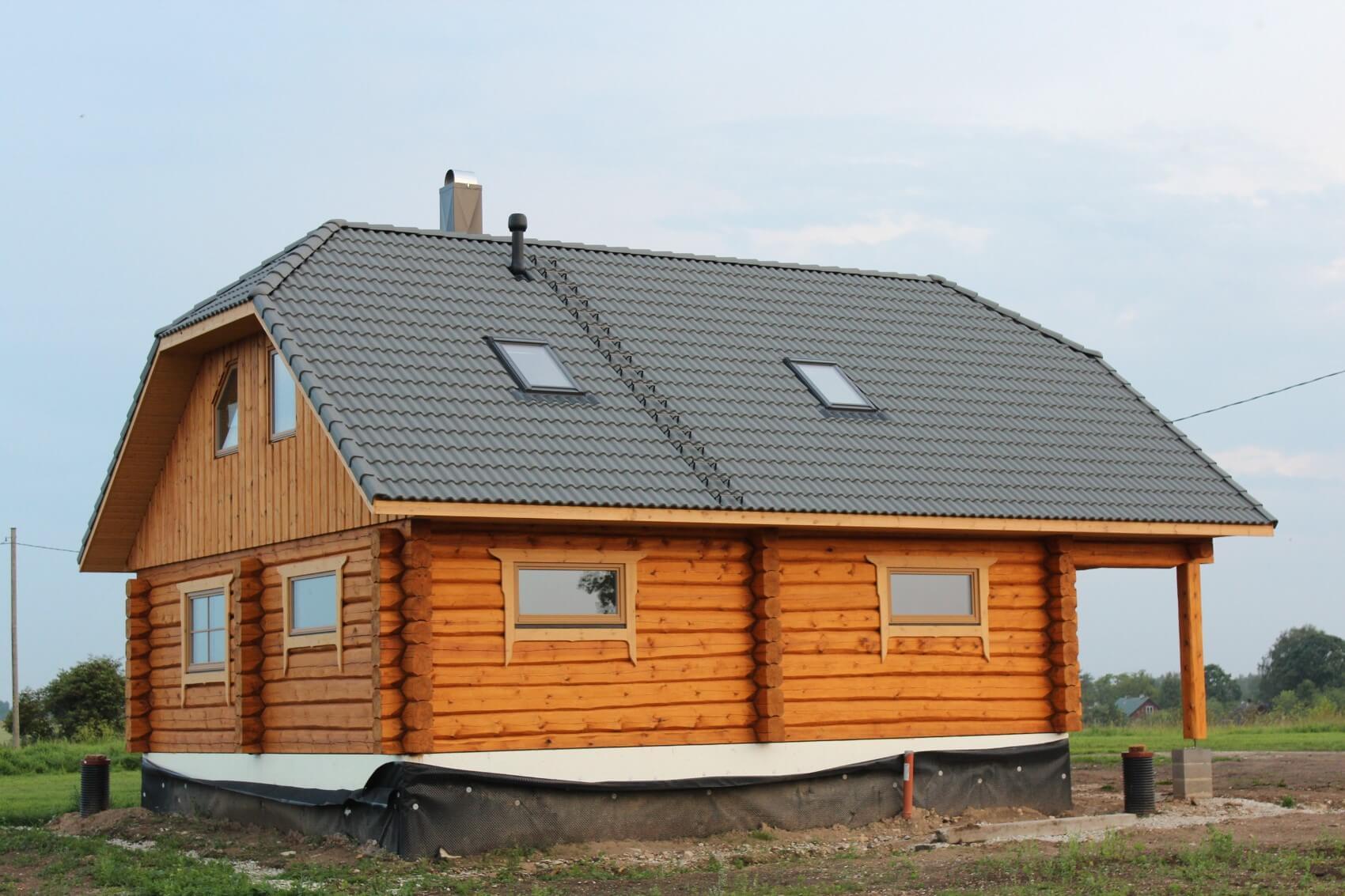 "building a log home ""karp kinni"""