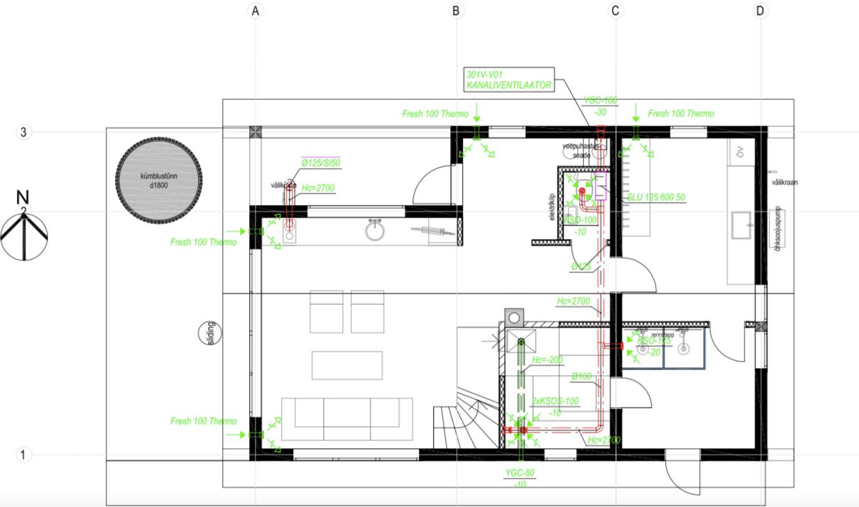 building a log home ventilation solutions